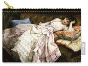 A Reclining Beauty Carry-all Pouch