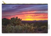 A Red Hot Desert Sunset Carry-all Pouch