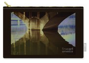 A Reflective Moment In Lyon Carry-all Pouch