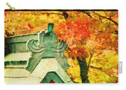 A Return To Fall - Digital Painting Carry-all Pouch
