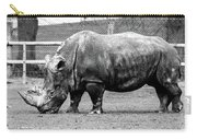 A Rhinoceros Carry-all Pouch