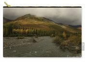 A River Runs Through The Brooks Range Alaska Carry-all Pouch