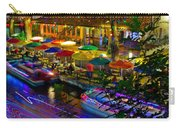 A San Antonio River Walk Christmas Carry-all Pouch