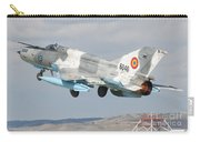 A Romanian Air Force Mig-21c Taking Carry-all Pouch
