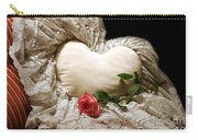 A Rose And A Heart Carry-all Pouch