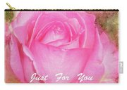 Enjoy A Rose Just For You Carry-all Pouch