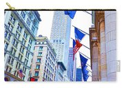 A Row Of Flags In The City Of New York 2 Carry-all Pouch