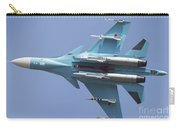A Russian Air Force Su-34 In Flight Carry-all Pouch