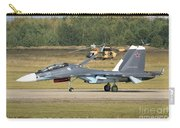 A Russian Navy Su-30sm Aircraft Carry-all Pouch