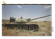 A Russian T-62 Main Battle Tank Rests Carry-all Pouch
