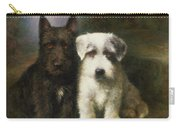 A Scottish And A Sealyham Terrier Carry-all Pouch