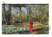 A Selfie In Snowdrop Wood Carry-all Pouch