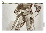 A Sergeant Of The Us Cavalry Carry-all Pouch