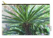 A Shady Palm Tree Carry-all Pouch by Raphael Lopez