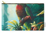 A Shady Spot - St. Lucia Parrot Carry-all Pouch
