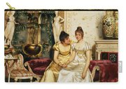 A Shared Confidence Carry-all Pouch by Joseph Frederick Charles Soulacroix