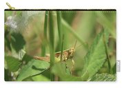 A Shy Grasshopper Carry-all Pouch