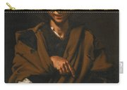 A Smiling Beggar Carry-all Pouch