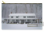 A Snowstorm At Valley Green Inn Carry-all Pouch