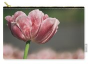 A Soft Tulip In Focus Carry-all Pouch