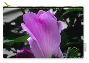 A Soft Violet Rose Of Sharon Carry-all Pouch