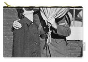 A Soldier's Goodby Kiss Carry-all Pouch