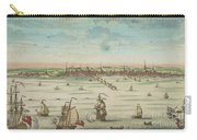 A South East View Of The Great Town Of Boston In New England In America, 1730 Carry-all Pouch