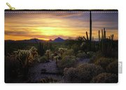 A Southern Arizona Sunset  Carry-all Pouch