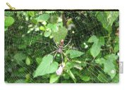 A Spider Web Carry-all Pouch