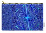 A Spiritual Retereat In Blue Carry-all Pouch