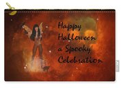A Spooky, Space Halloween Card Carry-all Pouch