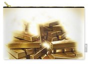 A Stack Of Gold Bullion  Carry-all Pouch