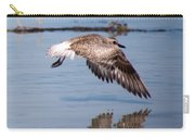 A Startled Sanderling By Darrell Hutto Carry-all Pouch