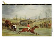 A Steeplechase - Another Hedge Carry-all Pouch