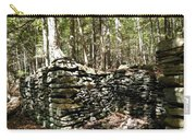 A Stone Structure In The Berkshire Hills Carry-all Pouch