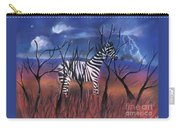 A Stormy Night For A Zebra  Carry-all Pouch
