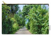A Street Between Trees Carry-all Pouch