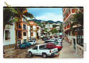 A Street In Puerto Vallarta Carry-all Pouch