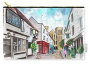 A Street In Ripon Carry-all Pouch