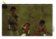 A Street Scene In Sevilla 1870 Carry-all Pouch