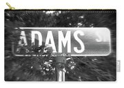 Ad - A Street Sign Named Adams Carry-all Pouch
