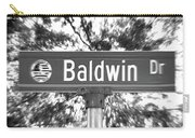 Ba - A Street Sign Named Baldwin Carry-all Pouch