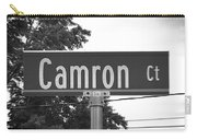 Ca - A Street Sign Named Camron Carry-all Pouch