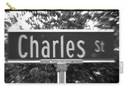 Ch - A Street Sign Named Charles Carry-all Pouch