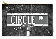 Ci - A Street Sign Named Circle Carry-all Pouch