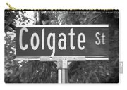 Co - A Street Sign Named Colgate Carry-all Pouch