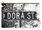 Do - A Street Sign Named Dora Carry-all Pouch