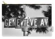 Ge - A Street Sign Named Genevieve Carry-all Pouch