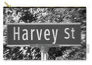 Ha - A Street Sign Named Harvey Carry-all Pouch