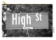 Hi - A Street Sign Named High Carry-all Pouch